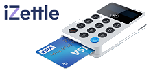 Card reader - sign up with iZettle today