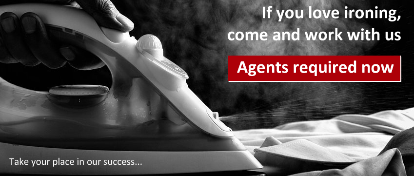 Work with All Ironed Out  - Ironing Agents required across the UK