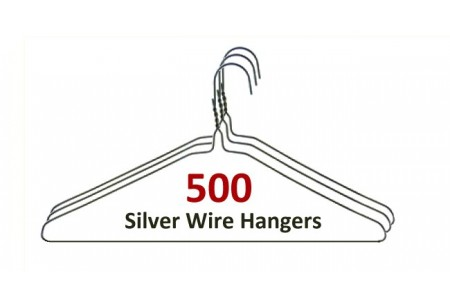 Silver Hangers (500)