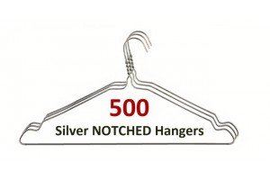 Silver Notched Hangers (500)