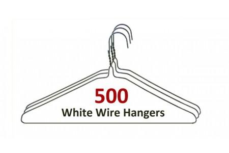 White Hangers (500)