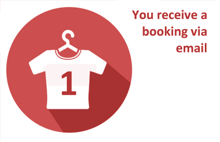 Step 1: Customer Booking